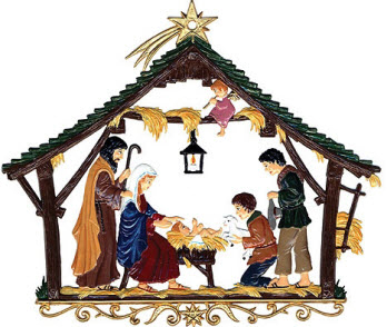 Nativity at Christmas
