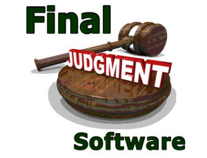 FinalJudgementSoftware